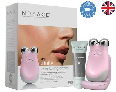 New Full Size NUFACE Trinity Facial Skin Toning Device Face Lift Anti aging UK
