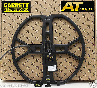 "New NEL STORM 13""x14"" DD search coil for Garrett AT GOLD + coil cover + fix bolt"