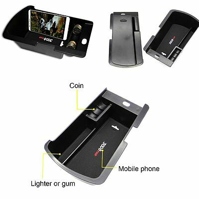Car Vehicles Organizer Armrest Storage Box Container Accessory For Peugeot 3008