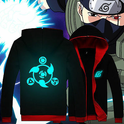 Anime NARUTO / Sharingan Luminous Fashion Sweat shirt Casual Hoodie Coat Clothes