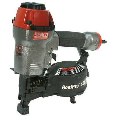 SENCO RoofPro455XP, 15 Degree Coil Roofing Nailer 3D0001N Reconditioned