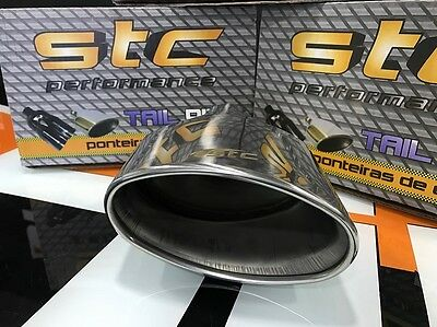 STC PERFORMANCE TAILPIPE TRIM TIP END MUFFLER  SEAT IBIZA FR CUPRA XXL Left Side