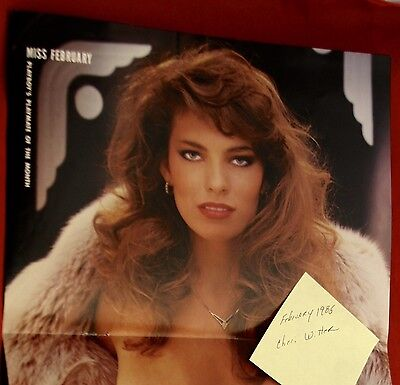 Replacement Playboy Centerfold February 1985 Cheri Witten Near Mint Condition