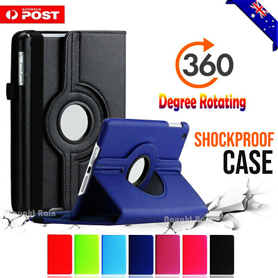 360 Rotate Stand Smart Case Cover for Samsung Galaxy Tab A A6 7.0 8.0 10.1 10.5