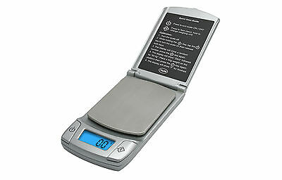 AWS American Weigh Scales Flip Phone Digital Scale 300g by 0.1g (Silver)