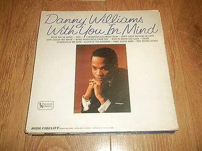"""Danny Williams """" With You In Mind """" Vinyl Lp 1964 Ex/vg-"""