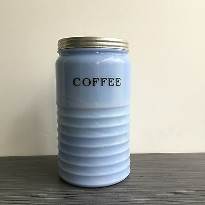 Jeannette Delphite Coffee Canister**FREE SHIPPING**