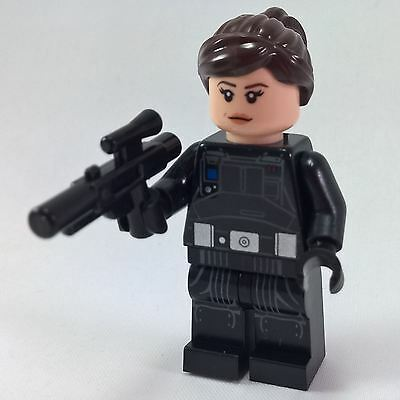 Jyn Erso + blaster and helmet LEGO Star Wars Rogue One from 75171