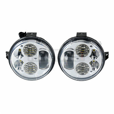 2x LED Headlights Conversion KIT For 2012-2016 Kawasaki Brute Force 750 2012-16