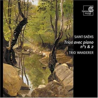Camille Saint-Saens (1835-1921) • Trios avec Piano No. 1 & 2 CD