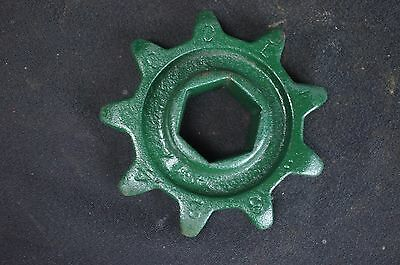 Cole Charlotte NC 1 Row Corn & Cotton Planter9 Tooth Chain Distance Sprocket Hex