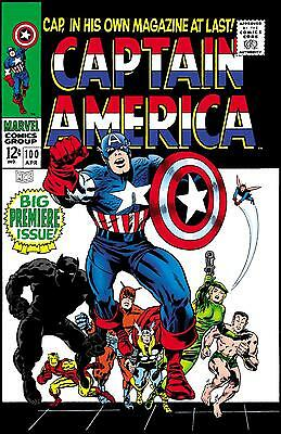 Captain America Comics The Collection Vol 2 Silver Age 1968 - 1993 All On Disc