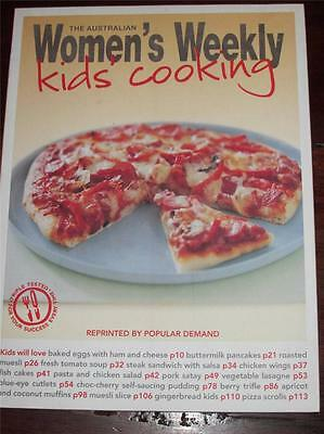 Australian  Womens Weekly Cookbook   Kids Cooking Easy Recipes Chef