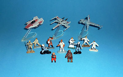 STAR WARS Micro Machines - REBEL SCUM / REBELLEN-ABSCHAUM lot Ackbar Luke Leia