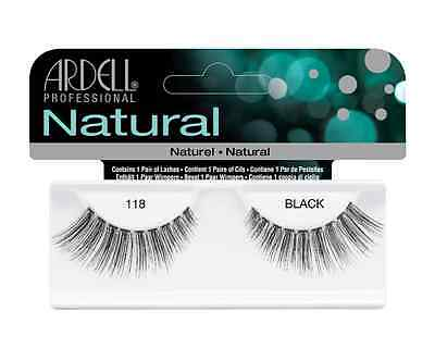Ardell Natural Lashes 118 . Pestañas Ardell 118 .