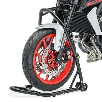 Motorcycle head stock lift Yamaha YZF-R6/ S/ YZF-R1 paddock stand front black