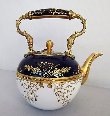 Antique Vienna Style Porcelain Teapot By Pirkenhammer co.