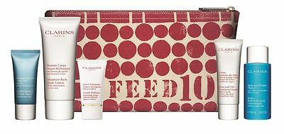 CLARINS Gift Set with make up bag ALL NEW SEALED