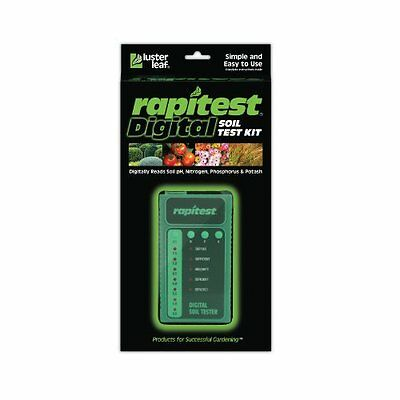 Electronic Luster Leaf 1605 Rapitest Digital Soil Testing Kit, Performs 25 tests