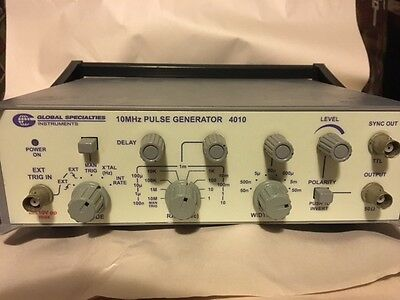 Global Specialties Instruments 0.1MHz to  10MHz Pulse Generator, M/N 4010