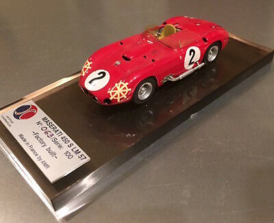AMR Maserati 450S 1957 Le Mans 1/43 scale, rare, limited edition