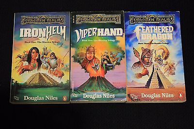 Forgotten Realms Novels AD&D TSR Maztica Trilogy Dungeons and Dragons