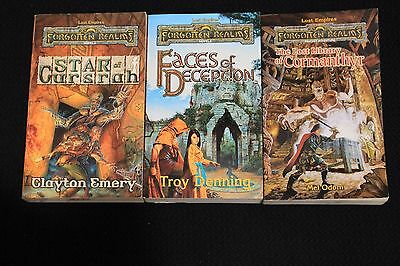 Forgotten Realms Novels AD&D TSR Lost Empires Dungeons and Dragons