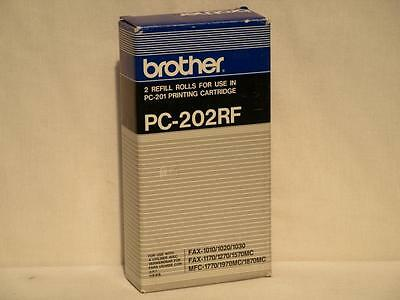 Brother PC-202RF 2-Pack Refill Rolls for PC-201 Printing Cartridge