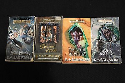 Forgotten Realms Novels AD&D TSR R.A. Salvatore Dungeons and Dragons