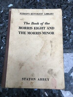 Pitmans Motorist Library  The Book Of The Morris Eight And Morris Minor