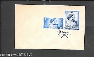 Gb 1948 Fdc On Plain Cover London 1938 Postmark Recorded By Owner As Forgery
