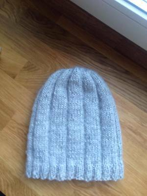 Hand-knitted beanie wool Hat