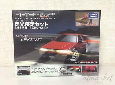 Takara tomy Drift Package nano flash sprint set Toyota Corolla Levin (AE86)NEW
