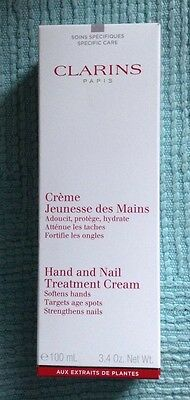 Clarins Hand And Nail Treatment Cream 100Ml Boxed