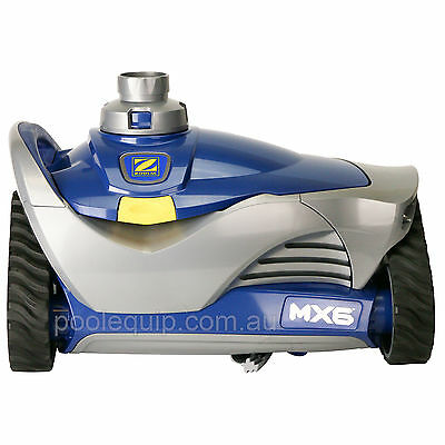 Zodiac MX6 Elite Pool Cleaner with Wall Scrubber - WC215-EL - NEW