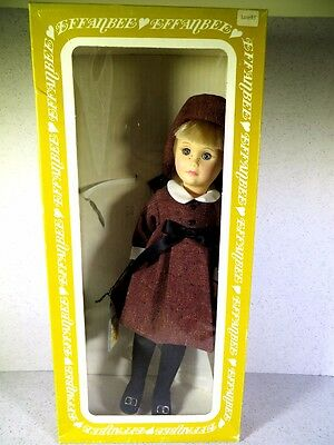 Effanbee Doll 14 Inches Tall Four Seasons Autumn