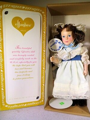 Effanbee Doll 14 Inches Tall Cristina 1983