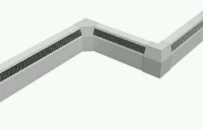 Smith's sureline 2000 natural convector radiator perimeter heating skirting