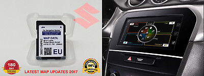 2017/2018 Suzuki Slda Bosch Sd Card Map Europe Sx4 S-Cross, Vitara, 39921-54Pa2