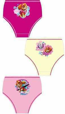 3 Pk Briefs/Knickers Shopkins, Paw Patrol, My Little Pony Minnie Mouse Character