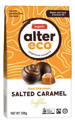 Organic Salted Caramel Truffles 108g - Alter Eco