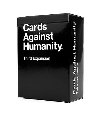 Cards Against Humanity: Original NEW Third Expansion FREE DELIVERY - Party Game