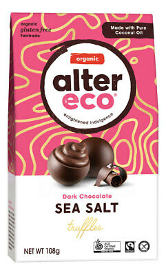 Organic Sea Salt Truffles 108g - Alter Eco