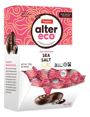 Organic Sea Salt Truffles (Tub 60x12g) - Alter Eco
