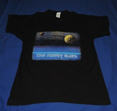 Vintage 1995 The Moody Blues Time Traveller T Shirt Size XL