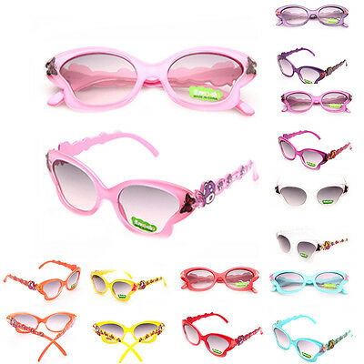 Toddlers Butterfly Shades Kids Children Baby Sunglasses Fashion ANTI-UV