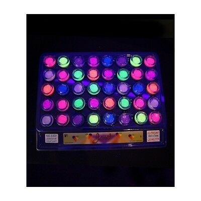 Pot de paillettes uv fluo