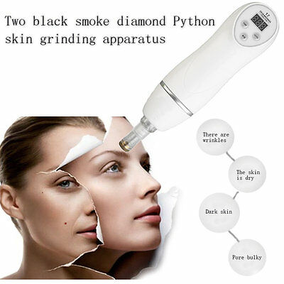 2 In 1 Diamond Dermabrasion Instrument Skincare Device Blackhead Cleaner LE