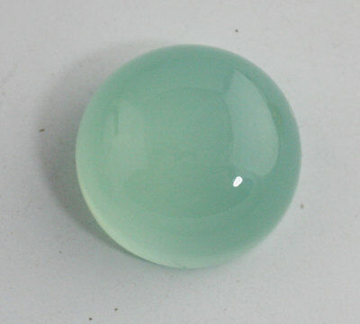 Huge AQUA CHALCEDONY ROUND CABOCHON - High Dome 20mm - 33carats
