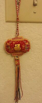 Chinese new year lucky wealth fortune money hanging tassel decoration